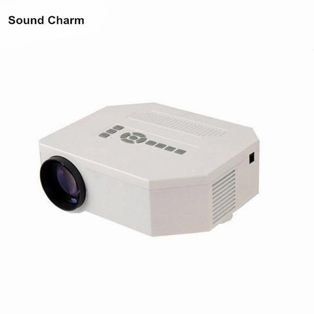 Flash Promo Portable Mini HD LED Projector 100 inch Cinema Theater, PC Laptop VGA input 640*480 LED HD Support HDMI VGA AV USB