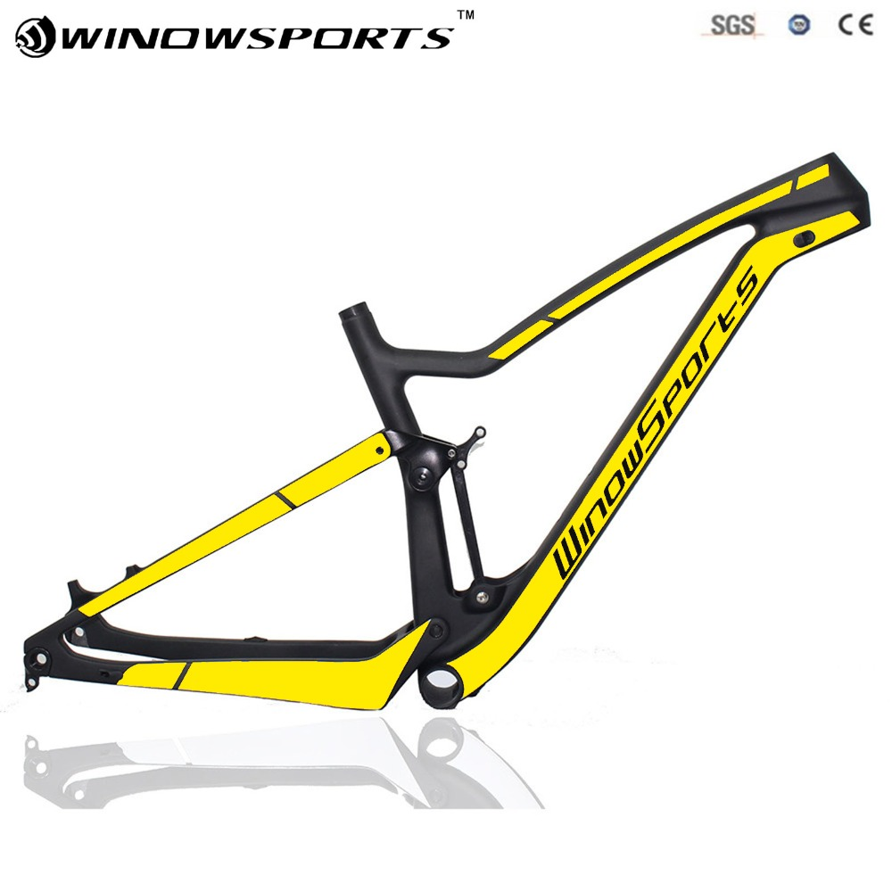 Black yellow logo 29er design-802c