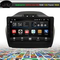 10.2 pulgadas video del coche reproductor de audio para Hyundai IX35 (bajo 2.0L) con WiFi gps bluetooth (no DVD)
