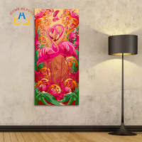 40 80 DIY Oil Coloring Picture By Numbers Hand Painted Canvas Painting For Living Room Animals