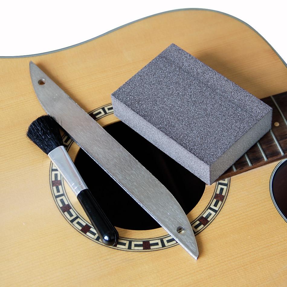 MUKU Lima de acero inoxidable para trastes de guitarra con abrasivos - Instrumentos musicales - foto 3