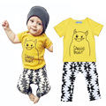 toddler boys clothing sets cartoon letter boy toddler clothing set summer t shirt+geometric pants clothing set for toddler boy