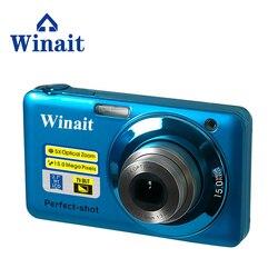 Winait Super DC-V600 Digital Camera Compact Photo Camera 20MP VGA Video 8x Optical Zoom 2.7 Screen IOS 400