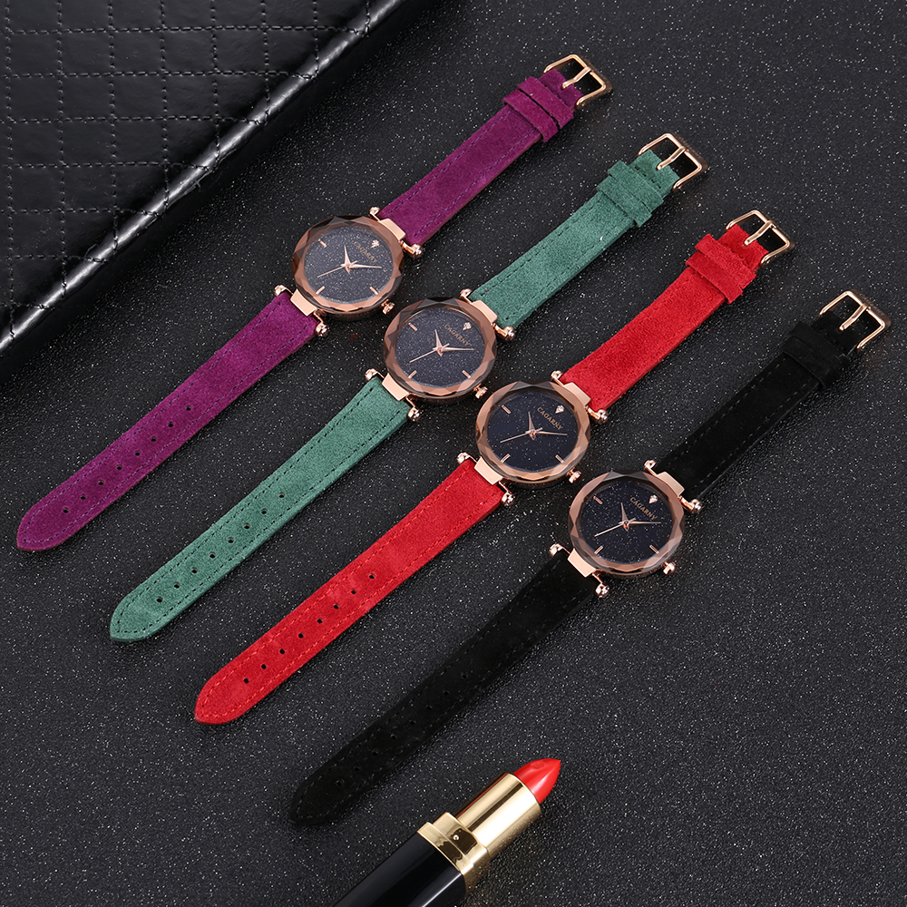 cagarny 2018 Leather Women Watches Ladies Luxury Brand Famous Wrist Watch Fashion Dress Female Clock Relogio Feminino Montre Femme drop shipping (6)