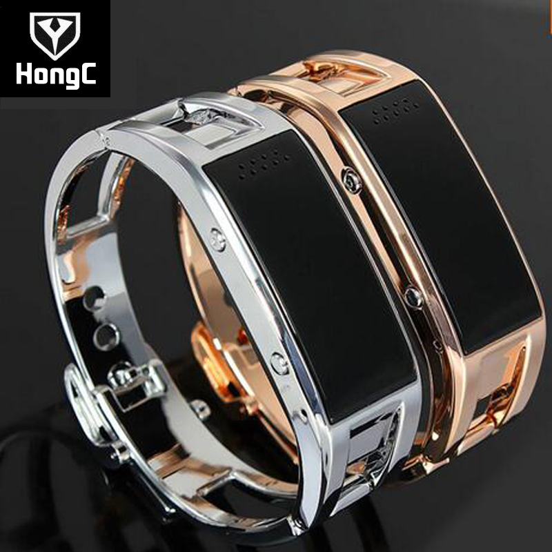 ФОТО HongC Bracelet D8 Bluetooth Electronic watch SmartWristwatches Bracelet for Android and Apple Smart phone Best Gift for Women