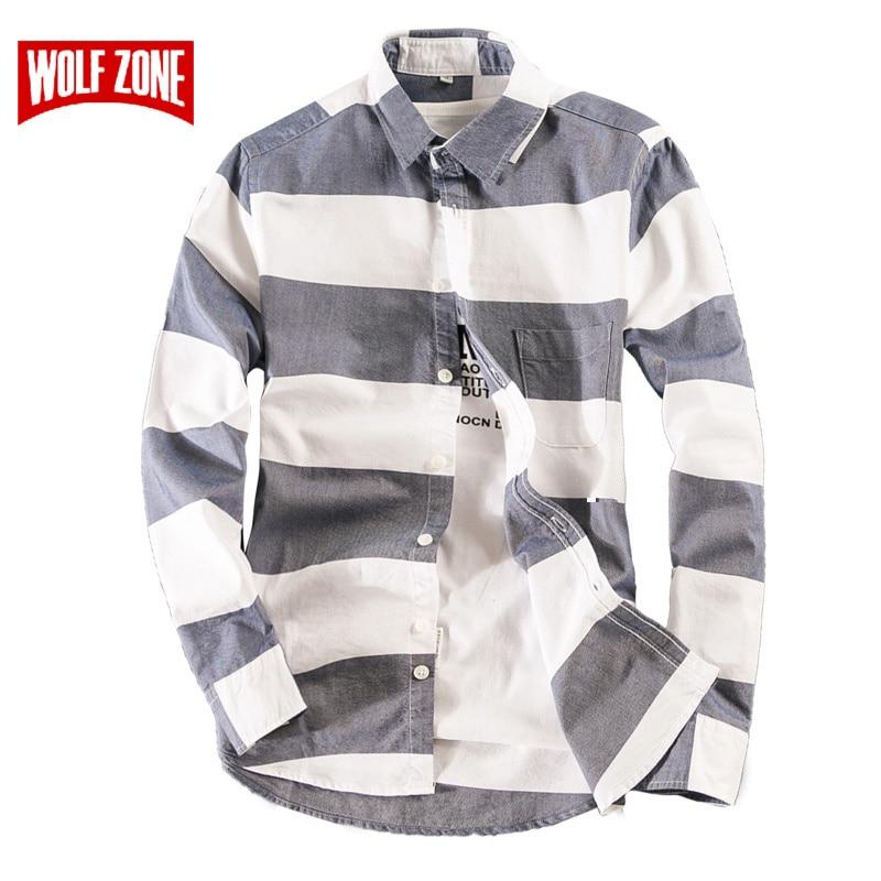 Camisa de promoción Camisas para hombre Vestido de manga Slim - Ropa de hombre