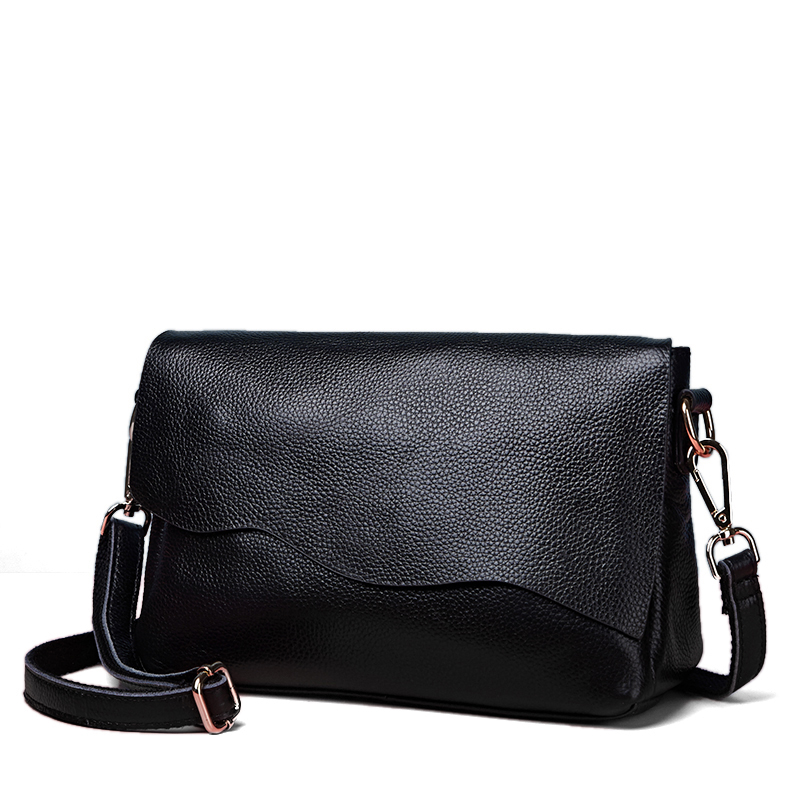 цена на New arrival women bags The first layer cow skin women messenger bags famous brand design women shoulder bags fashion casual bags