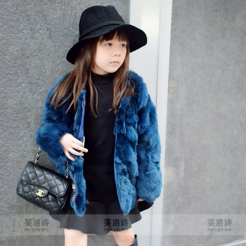 Popular Children's Real Fur Coats-Buy Cheap Children's ...