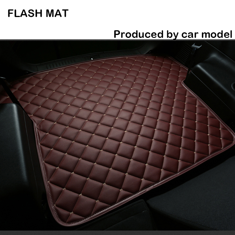 Car trunk mat for audi a3 sportback a5 sportback tt mk1 A1 A2 A3 A4 A5 A6 A7 A8 Q3 Q5 Q7 S4 S5 S8 RS Car accessories