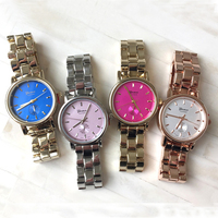 2015 Wrist Watches Women Simple Color Dial Watch Hot Sale Casual Watch Geneva Watches Women Fashions