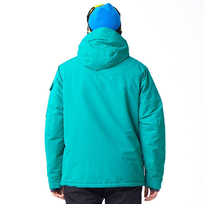 Jaqueta de Snowboard Snowboard Capuz Esportes 4 Cores