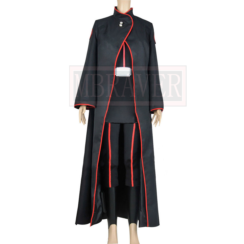 Star Wars Rebels Cosplay Imperial Inquisitors Barriss Offee Costume Uniform Suit Trench Coat Halloween Party