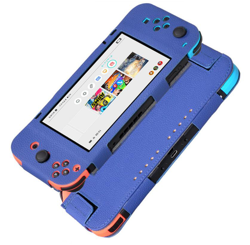 5pcs PU Leather Protective Case For Nintendo Switch 2017 6.2 Gaming Console