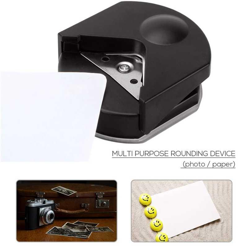 R4 угловой дырокол для фото, карт, бумаги; 4 мм угловой резак круглое бумажное Дырокол; маленькие округлые режущие инструменты