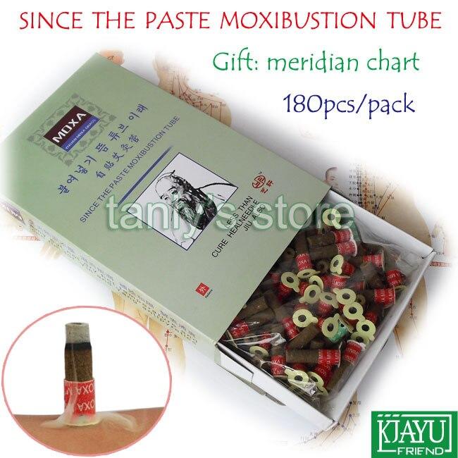 Smoke since the paste moxibustion tube self stick moxa roll Yixuan warm moxibustion roll 180pcs pack