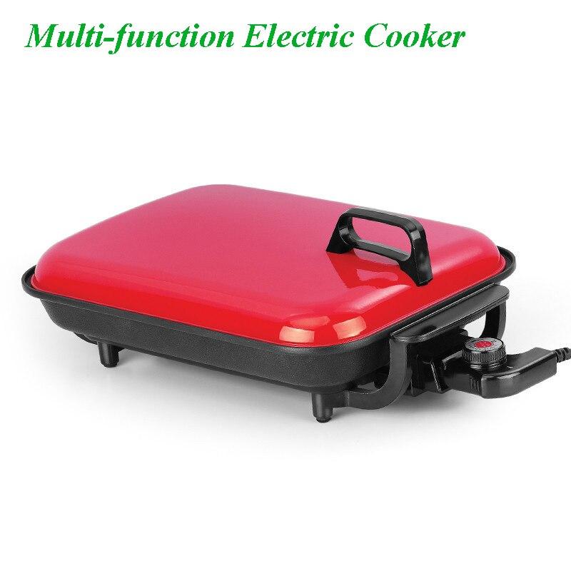 Épaissir Pot corps Barbecue Pot électrique cuisson casserole multi-fonction sans fumée Barbecue plat Maifan pierre grillé poisson plaque