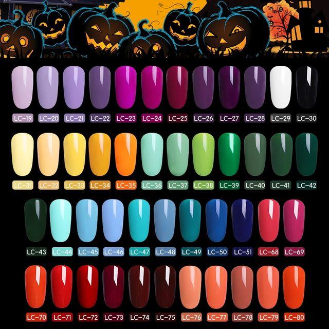 LILYCUTE 5ml Colorful Glitter UV Gel