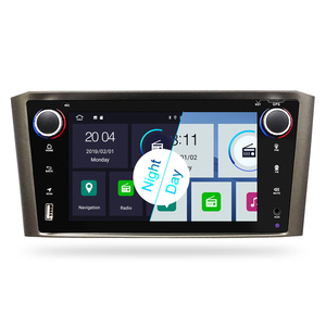 Image 2 - Android 9.0 IPS 2G RAM Car DVD Stereo Player For Toyota Avensis/T25 2003 2008 Car PC Head 1 Din GPS Navigation Video Multimedia
