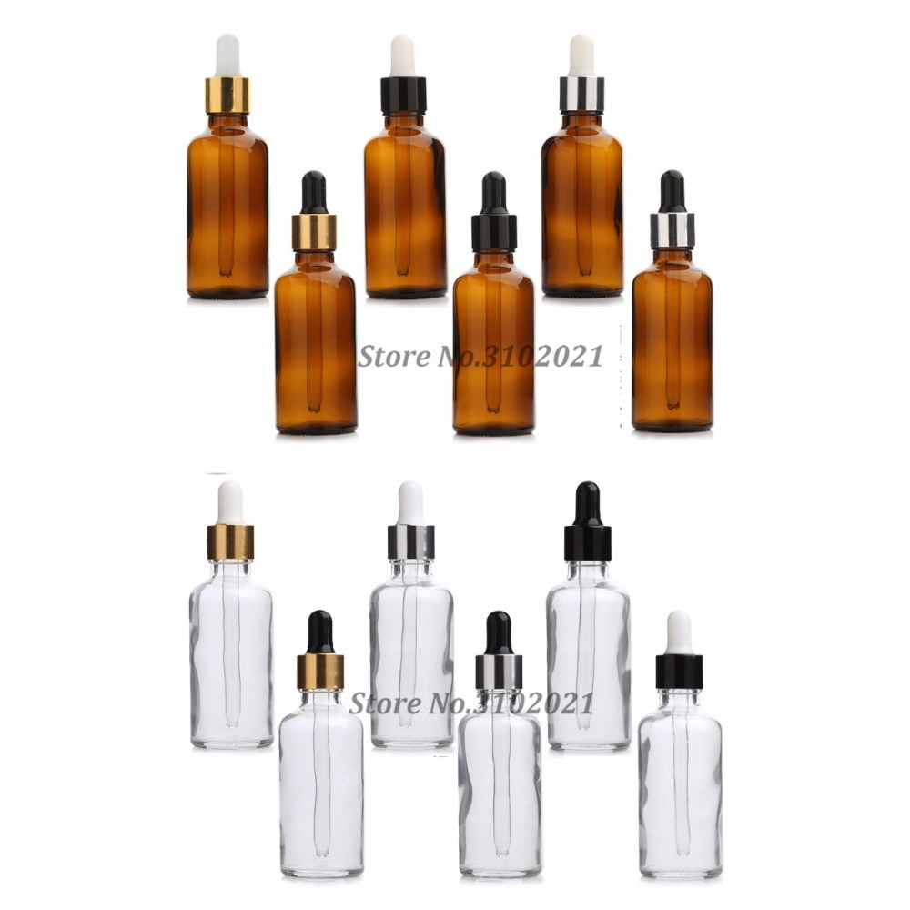 5ml 10ml 15ml 20ml 30ml 50ml 100ml 7pcs/set Amber Clear Glass Essential Oil Dropper Perfume Bottle with glass pipett fragrance free shipping 5 10 15 20ml 10pcs lot glass green essential oil bottle with dropper packing dilution bottle
