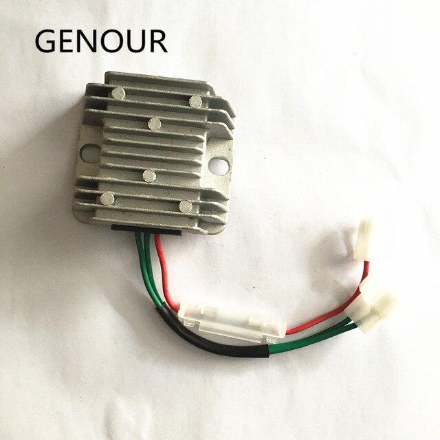 自動電圧レギュレータavr 178F 186Fディーゼルgenerator無料切手 5KWディーゼル発電機 3 ワイヤアジャスタースタビライザー