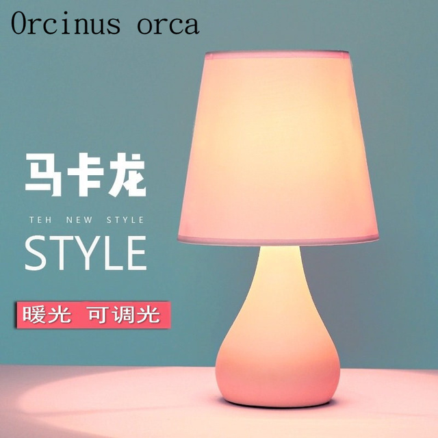 North european warm princess bedroom lamp creative minimalist modern north european warm princess bedroom lamp creative minimalist modern ceramic light remote control table lamp free aloadofball Images