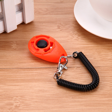 1pc Dog Training Clicker Adjustable Sound Key Chain