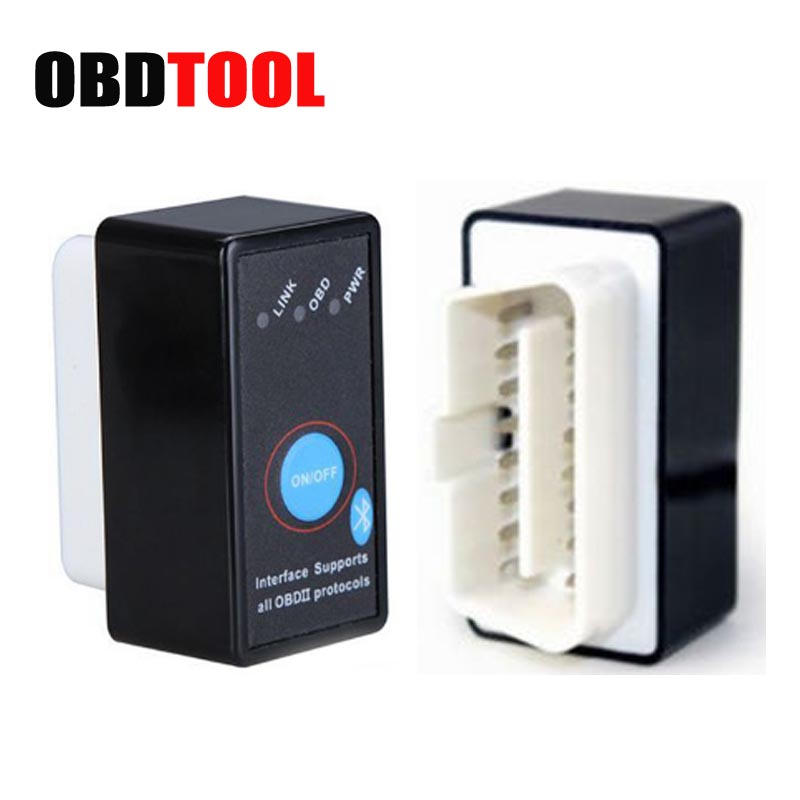 ELM327 V1.5 PIC18F25K80 Chip OBD2 Code Reader Bluetooth V2.1 J1850 Power Switch On/off 12V OBDII ELM 327 Diagnostic Tool Scanner