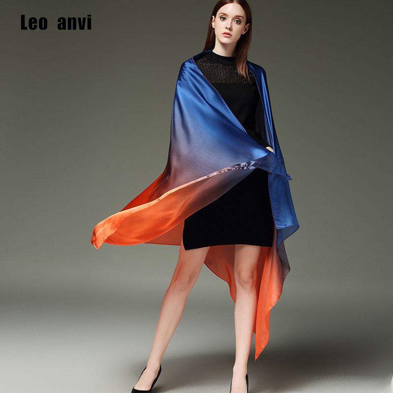 2018 թեժ վաճառք ամառային սարոնգ կանացի ատլասե շարֆ ֆուլարդ կանացի մետաքսե շալլեր և փաթաթում մեծ չափսերով 190 * 100CM