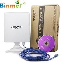 Одежда высшего качества Kasens N9600 высокое Мощность 6600 МВт 150 Мбит/с USB Беспроводной WiFi адаптер 80dbi Телевизионные антенны 12 мая