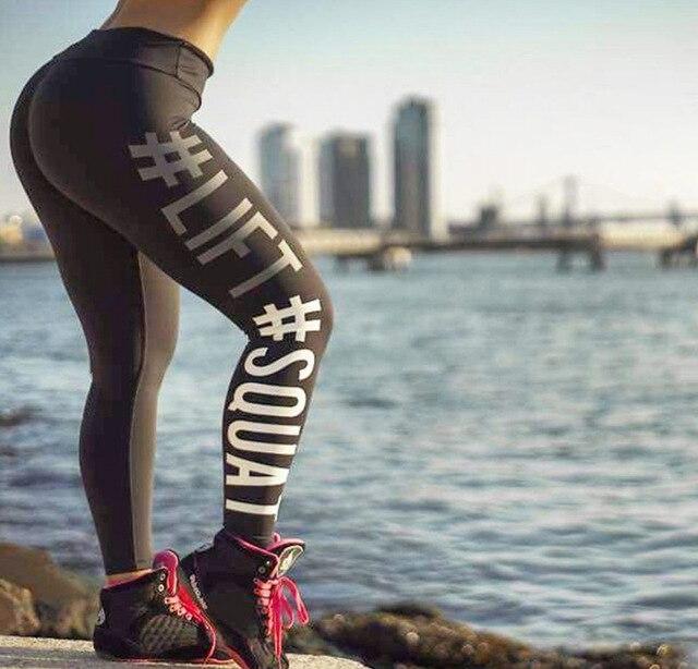 2017 Yoga Pants Women Leggings Sport Yoga Leggings Pants Running Trousers Tights Gym Training Legging Sport Femme Fitness