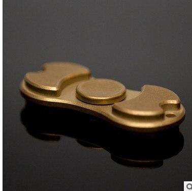 HandSpinner Fingertips Spiral Fingers Gyro Torqbar Brass Copper EDC Toys
