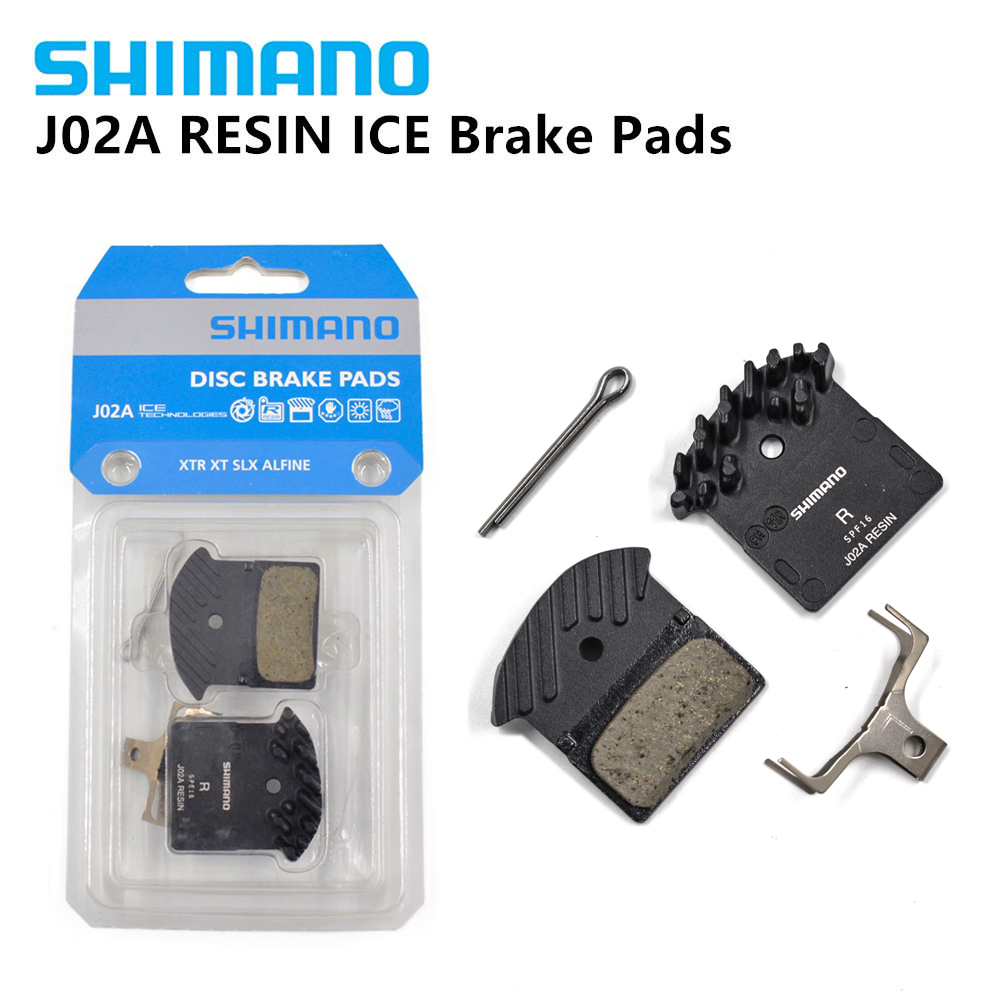 a50a3dd909f SHIMANO j02a Brake Pads DEORE XT SLX J02A Cooling Fin Ice Tech Brake Pad  for M785