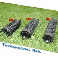 M4 Tactical Hunting 7/9/12'' Inch Black Free Float Quad Handguard Picatinny Weaver Rail Fit .223/5.56