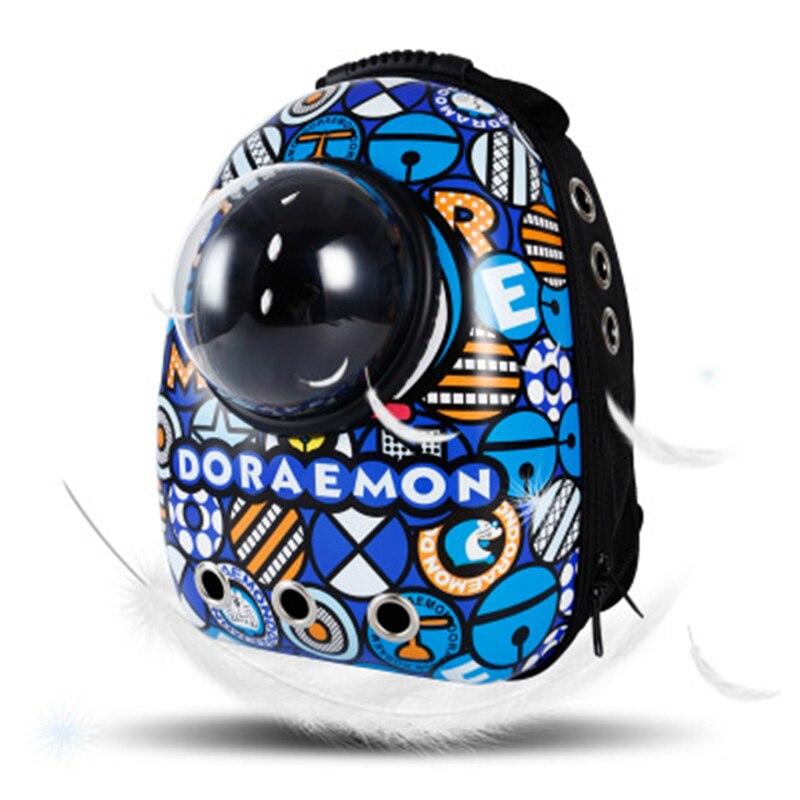 Новая космическая капсула астронавт ПЭТ кошка рюкзак пузырьковое окно для Китти Щенок Чихуахуа маленькая собака переноска ящик открытый д...