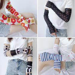 20 цветов, хит продаж, новый дизайн, манжеты с холодным рукавом, милый солнцезащитный крем, рукава для рук, нарукавник, летние грелки для