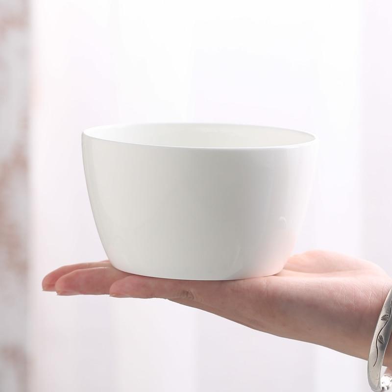 4.5 inch, japanese style, bone china ice cream bowls, classic ceramic snack bowl, pottery heater lunch box, kitchen utensil serveware