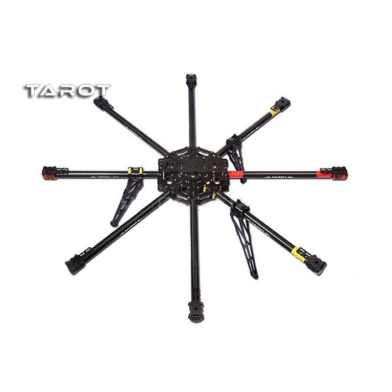 TATOR-RC ALL 3K Pure Carbon Metal OCTA Rotor Copter Main Frame Kit Iron Man 1000 TL100B01 tator rc 3k carbon fiber plate 3 5mm tl2900