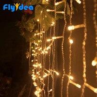 3.5 メートル LED つららライトストリング新年妖精装飾 EU/米国のプラグイン 220 V 110 V クリスマス照明ホリデーガーデン花輪防水|ライティングチェーン|ライト & 照明 -