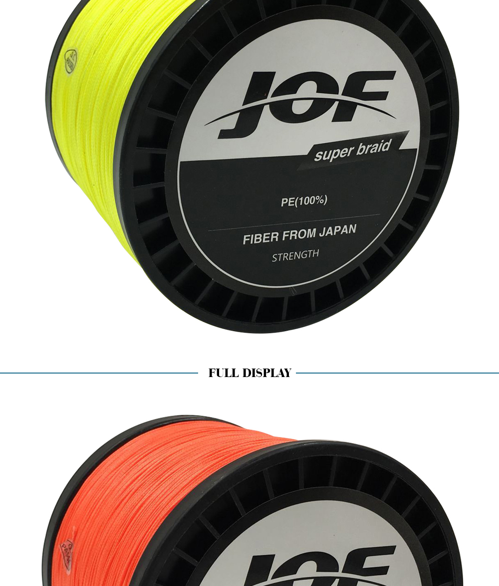 1000m 8 strands Multicolour PE Braided Wire Multifilament Fishing Line Fishing Tackle 15LBS-80LBS 2