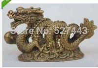Atacado Chinês estátua de bronze de dragão do zodíaco feng shui bênção|blessed| |  -