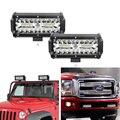 7 дюймов 120 Вт комбинированные светодиодные световые балки точечный луч для работы вождения внедорожная лодка автомобиль трактор грузовик ...