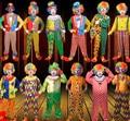 Уличный спектакль костюмы Хеллоуин костюм fancy dress сценический костюм Для Взрослых клоун костюм цирк производительности одежда