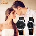EYKI Watches Men Luxury Stainless Steel Fashion Lovers Slim Quartz Watch Male Wristwatch relogio masculino relojes Analog Quartz