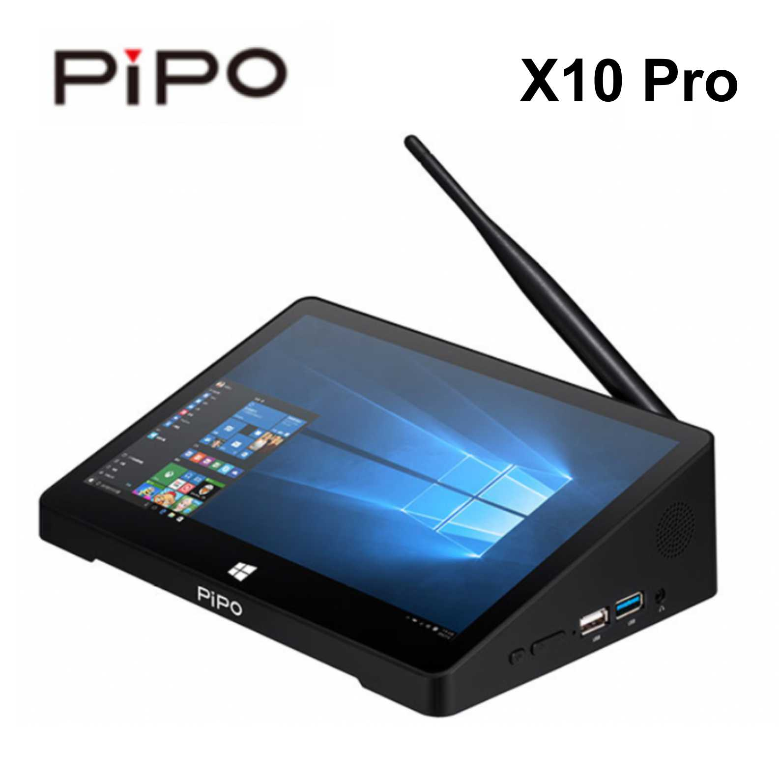 10.8 Inch PIPO X10 Pro 4G 2G RAM 32G 64ROM Mini PC Windows 10 OS TV Box Z8350 Quad Core Mini Pc Box HDMI Computer Pc Mini Tablet