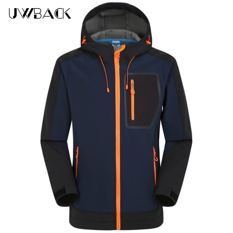 ФОТО Brand Waterproof Softshell Ski Jacket Men Camping Outdoor Sport Rain Coat Hiking Jackets Climbing Tech Fleece Windbreaker,UA274