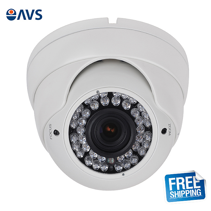 ФОТО Night Vision Varifocal Lens Vandal-proof Dome CCTV Camera