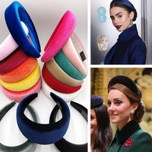 Unique Women Velvet Headbands Hair Accessories Band Fashion Head wear