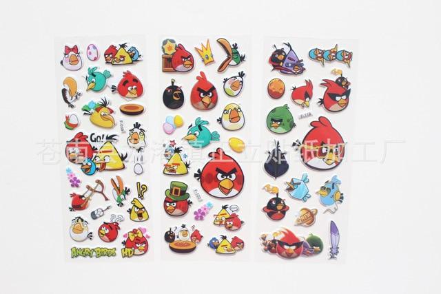 Al por mayor para 300 unids Aves Anna & Elsa pegatinas, spiderman dora princesa, mickey mouse, toy story sticker juguetes para niños