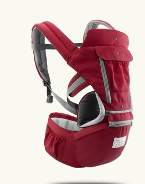 AIEBAO Baby Hipseat Carrier Rucksack Mochila Sling-Wrap Kangaroo Breathable