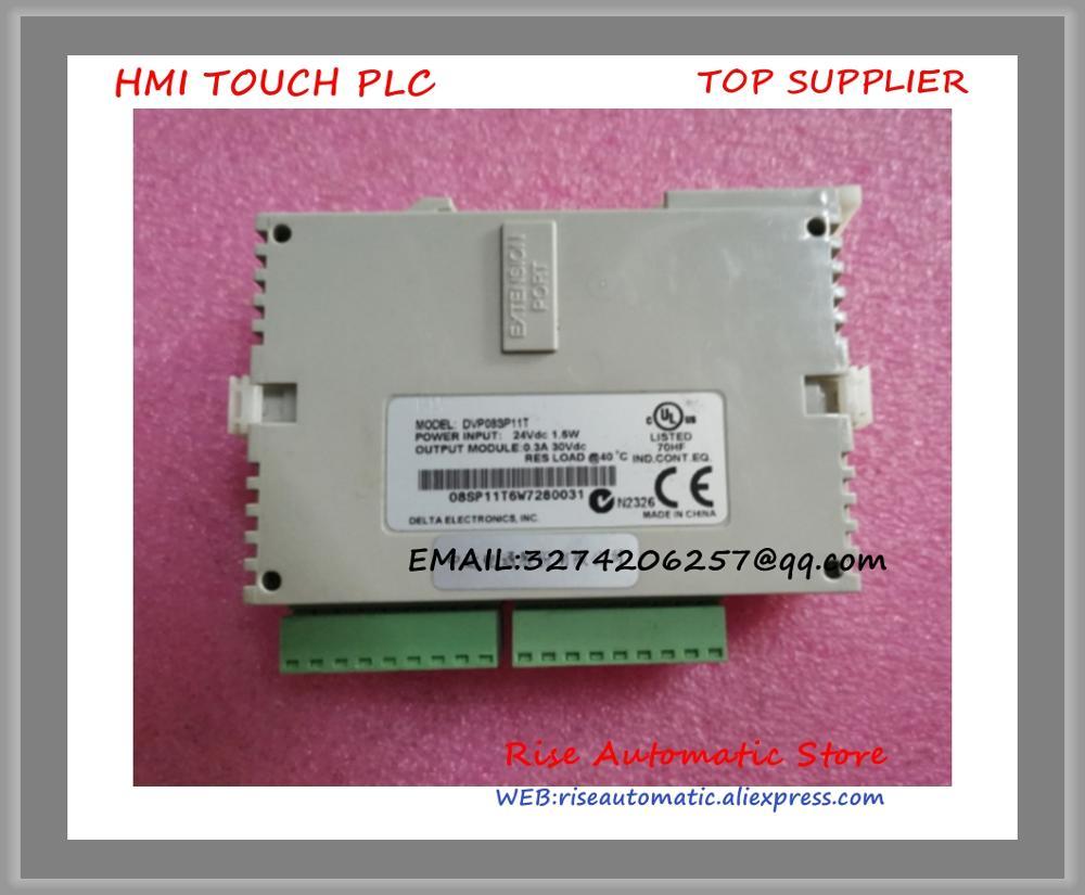 New Original Programmable Controller PLC SS series Digital extension Module 8 point 4DI 4DO NPN transistor DC power DVP08SP11TNew Original Programmable Controller PLC SS series Digital extension Module 8 point 4DI 4DO NPN transistor DC power DVP08SP11T